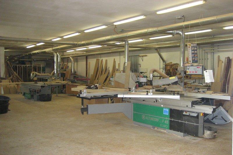 Tischlerei maschinenraum  Werkstatt: Tischlerei Gebr. Rammelt GmbH Weimar